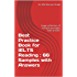 Best Practice Book for IELTS Reading : 66 Samples with Answers
