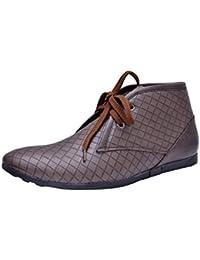 Fentacia Men Brown Lace-up Casual Shoe