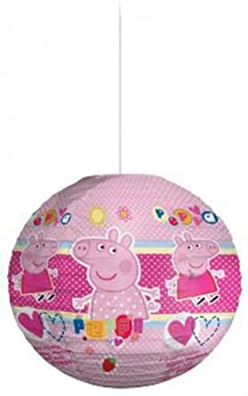 Spearmark Peppa Pig Picnic Paper Shade, Pink