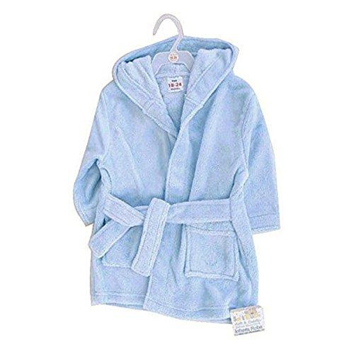 Superbe robe de chambre en polaire douce pour enfant Par Softtou bleu