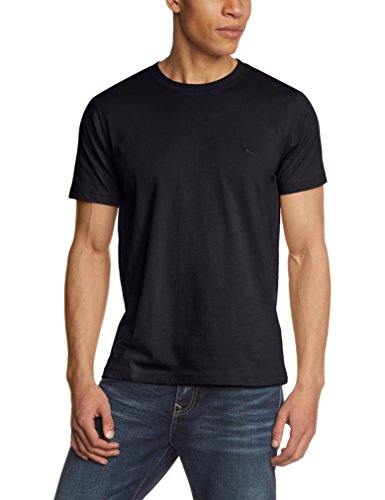 camel-active-herren-t-shirt-round-neck-1-2-einfarbig-gr-large-schwarz-black-39