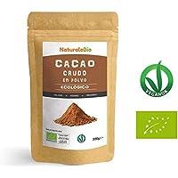 Cacao crudo Ecológico en Polvo 200g | Organic Raw Cacao Powder | 100% Bio, Natural y Puro | Producido en Perú a partir de la planta Theobroma Cacao | Rico en antioxidantes, minerales y vitaminas.