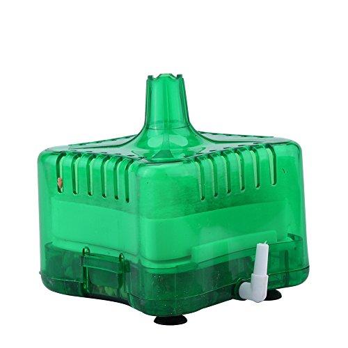 Acuario Pecera Biológica Agua Filtro ( Verde ) 7.8 x 7.8x 6.8 CM