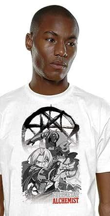 Fullmetal Alchemist - T-Shirt Alchemist brother's - Blanc - M