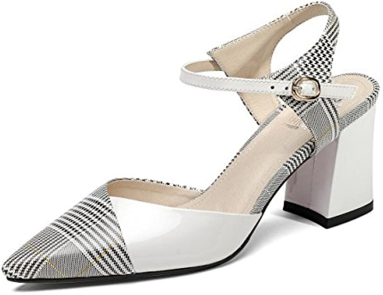 YMFIE Rhinestones de Moda de Verano para Mujer con Sandalias Flip Flop Sandalias Antideslizantes de Vacaciones... -