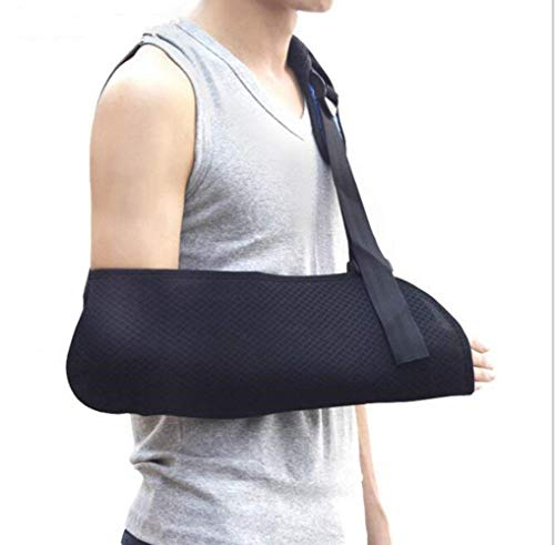 Arm Sling Schulter Immobilizer Brace - für gebrochene, gebrochene Knochen - verstellbare Schulter, Rotatorenmanschette voll weiche Wegfahrsperre für Subluxation, Luxation, Verstauchung,Enfantseulement -