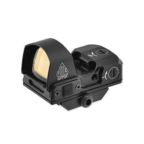 UTG Reflex Micro, Red 4 MOA Single Dot, Adaptive Base SCP-RDM20R, schwarz