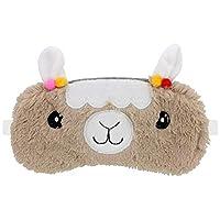 Furry Llama Eye Mask Sleep Mask