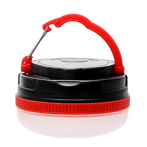 Onsinic 1Pcs Red Camping Licht Außenbeleuchtung Notlampe Magnetic 3 Modi LED-Nachtlicht-Laternen für Wandern Camper-Zelt (Außenbeleuchtung Für Camper)