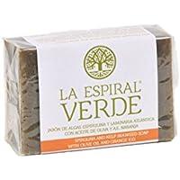 La Espiral Verde Jabón de Algas Espirulina y Laminaria Atlántica con Aceite de Oliva y A.E.
