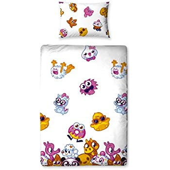 Character World Moshi Monsters Moshlings Single Rotary Duvet Set