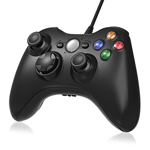 Xbox 360 Controller, Gamepad Xbox 360, Xbox 360 Common Treiber für Windows XP / 7/8/10, Android (TV-Box / Smartphone / Tablet)