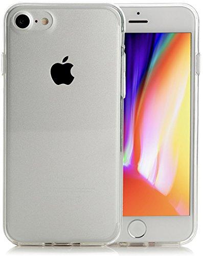 iPhone 8 Hülle, iPhone 7 Hülle, Arktis® Invisible Air Case [Kabelloses Aufladen Unterstützung] Schutzhülle Silikon Handyhülle - Klar Durchsichtig Transparent Clear