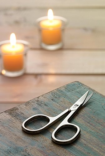 Drei Schwerter | Exklusives 7-teiliges Maniküre – Pediküre – Nagelpflege-Set / Etui / Nagelset | Qualität – Made in Solingen (922601)