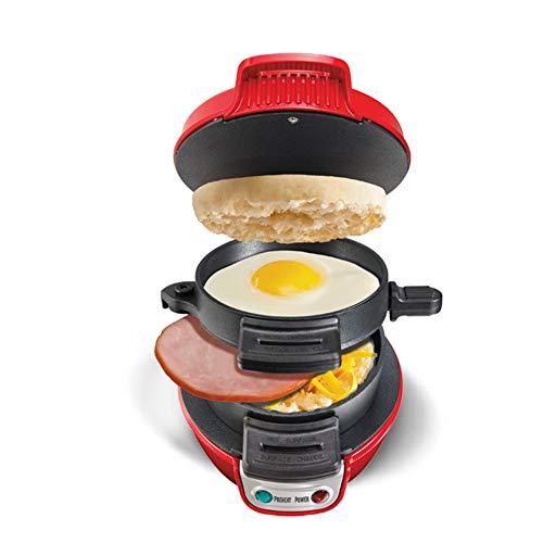 WSYK Mini Sandwich Toaster Petit Déjeuner Machine De Cuisson Automatique Hamburger Maker Bacon Oeuf Poêle À Frire 220 V Cuisine Appareils