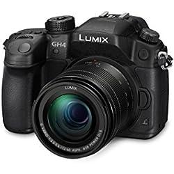 """Panasonic Lumix DMC-GH4M Cámara compacta 17.2MP 1/3"""" MOS 4608 x 3456Pixeles Negro - Cámara digital (17,2 MP, 4608 x 3456 Pixeles, MOS, 1,34x, 4K Ultra HD, Negro)"""