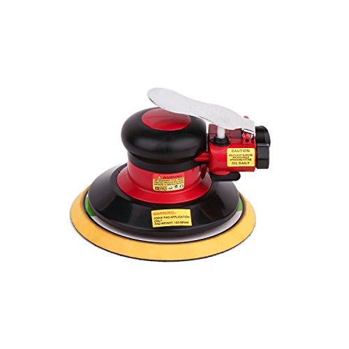 Hochwertig Druckluft Schleifer Excenterschleifer Schleifmaschine, Niedrige Vibration, Schwerlast Maschine … (Excenterschleifer -150mm)