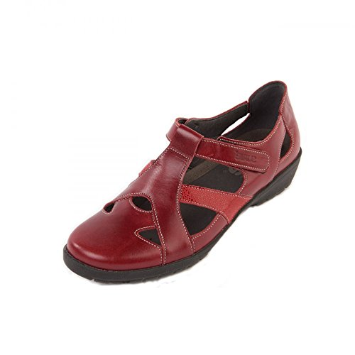 suave-trouser-shoes-casual-comfort-jacky-red-4
