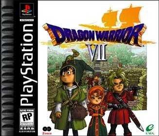 Playstation 1 - Dragon Warrior VII 7 (Warriors Quest Dragon)