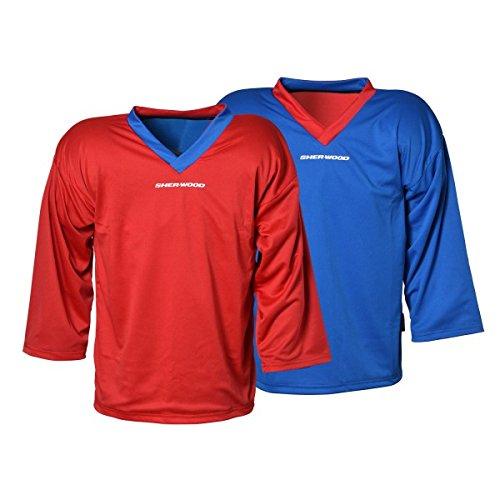 Sherwood Trainingstrikot - wendbar, Größe:XL, Farbe:blau/rot