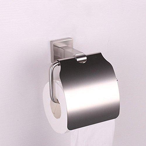 MAFYU 304 Edelstahl hängenden Papier Handtuch Haken, Bad Anhänger, Gewebe-Halter, einfache Art und Weise (Hängende Papier-handtuch-halter)