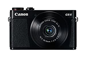 Canon PowerShot G9 X Compact System Camera - Black (20.9 MP, Wi-Fi, NFC) 3-Inch Touch Screen