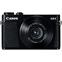 Canon PowerShot G9 X 20.2MP Full HD 1080p Wi-Fi Digital Camera with 3x Optical Zoom (Black)