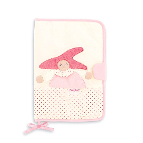 Corolle Babi Kleine Säuglingspflege–Schützt Notizbuch–Rosa