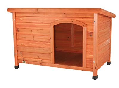 Trixie Natura Flat Roof Dog Kennel, M-L, 104 X 72X 68 cm by Trixie