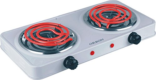 Orbon Double 1000w+1000wg Coil Induction Cooktop / Induction Cookers / Handy G Coil Cooktop ( Huge Diwali Discount & Free Shipping )
