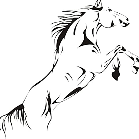 DIY Home Horse Removable Vinyl Decal Art Mural Home Decor Wall Stickers Arts