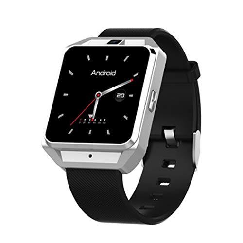 HBWJSH Smart Watch GPS-Track-Navigation WiFi Herzfrequenz-Multifunktions-Anruf-Uhr H5 (Farbe : Silber)