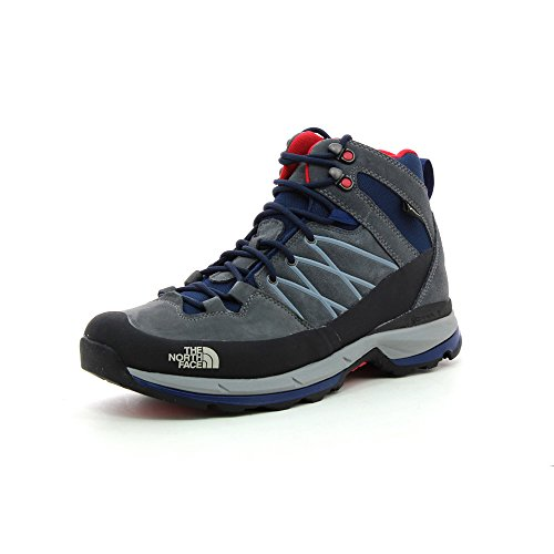 North Face Wreck Mid GTX Zinc Grey / Cosmic Blue - hommes