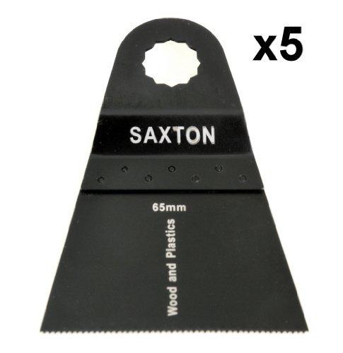 5 x Saxton 65 mm, für Worx Sonicrafter