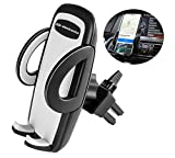 Universal 360° air vent car mobile phone holder for iPhone 8 / iphone x /7 Plus/7/6S Plus/6Plus/iphone 6 /6/5,Samsung Galaxy S8 S7 S6 s5 / Note 8 /5/4/3 HTC, Nokia, LG G6, Huawei, oppo and Other Smartphone Mobile Phone by pjp electronics(R) (air vent)