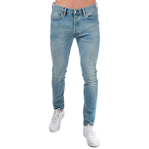 s 501 Skinny West Coast Skinny Fit Stoned Blue (81) 34/32 ()