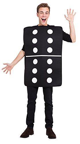 1Domino Kostüm One Size (Halloween-domino-spiel)