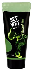 Set Wet Hair Gel Vertical Hold (10ml Tube)