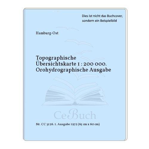 Topographische Übersichtskarte 1 : 200 000. Orohydrographische Ausgabe