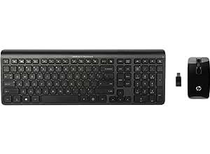 HP C6010 ensemble clavier et souris sans fil haute précision et définition