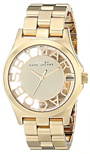 Marc Jacobs Ladies' Henry Skeleton Watch - MBM3206