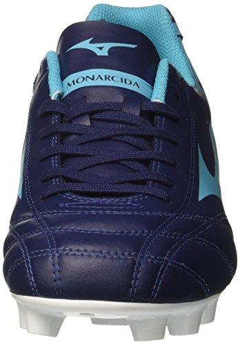 Mizuno Herren Monarcida Neo MD Fußballschuhe Blau (Peacoatpeacockblue)