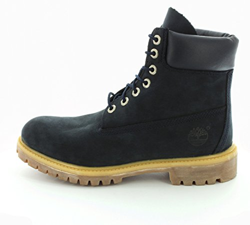 Timberland 6-Inch Premium, Bottes Classiques Homme Navy Waterbuck