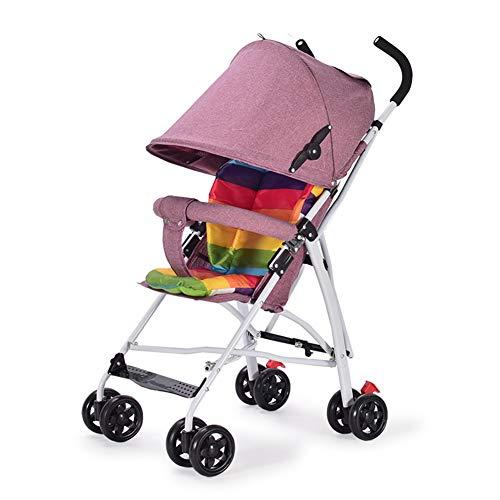 JY Kid Auto Ultraleichte Faltbare StoßDäMpfer Anti-Buckel-RüCkenlehne Abnehmbare Kinderauto,C
