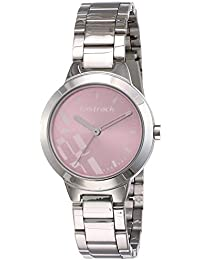 Fastrack Analog Dial Women's Watch (Pink, 6150SM04)-NM6150SM04 / NL6150SM04