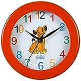 Safal Mix Coloured Children Wooden Wall Clock