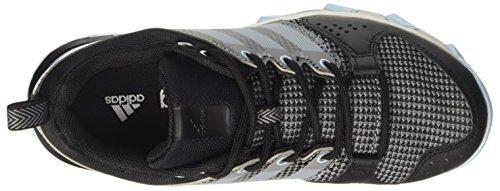 adidas Galaxy Trail, Chaussures de Running Compétition Femme Noir (Core Black/icey Blue/icey Blue)