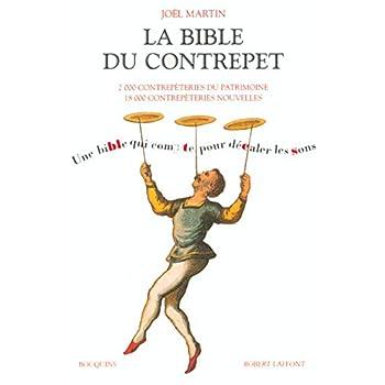 La Bible du contrepêt