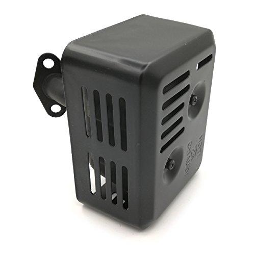 Shioshen Schalldämpfer Auspuff Montage für Honda GX120 GX160 GX200 168F 4PS 5.5 PS 6.5PS Motortrimmer Generator Oregon 35-038.
