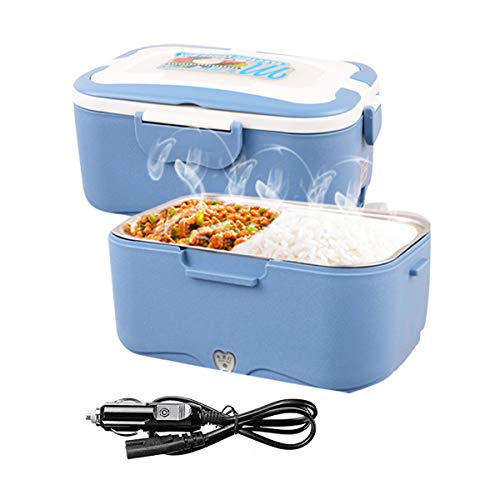 AUTOPkio Boîte à Lunch électrique de Camion, Lunchbox Electric 24V 35W Food Warmer Lunch Box for Truck Driver 1.5L Portable Heating Meal Container Bento Heater(24V)